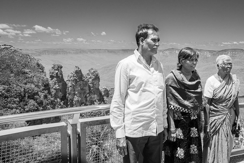 סלע שלוש האחיות, ההרים הכחולים. אוסטרליה